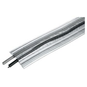 Extra large cable-troughs, translucent, length 3 metres
