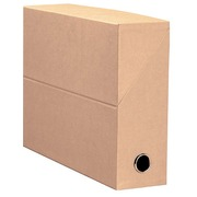 Filing box cardboard Fast back 9 cm green
