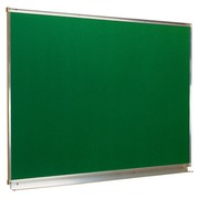 Enameled blackboard green 200 x 100 cm