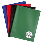 Document holder Eco polypropylene non-transparent A4 80 sleeves - 160 sights assortment