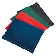 Document holders Bruneau PVC opaque A4 50 sleeves assorted colours
