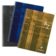 Directory spiral binding Clairefontaine Metric 210 x 297 mm 180 pages 5 x 5