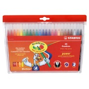 Stabilo Power, set of 24 coloured felt tip markers
