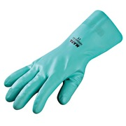 Synthetic gloves Optimo turquoise size 6