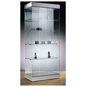 Déco, display case, aluminium