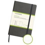 Notebook 140 x 215 mm lined 192 pages grey