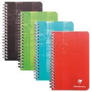 Notebook spiral binding 110x170 mm 180 pages 5x5 Clairefontaine