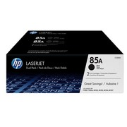 Pack 2 toners HP black CE285AD