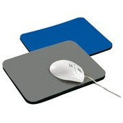 Coloured mousepad blue