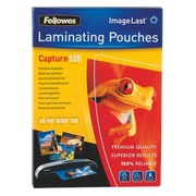 Box of 100 sleeves for lamination Fellowes 2 x 125 micron A5