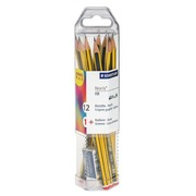 Pack of 12 pencils Staedtler Noris HB + eraser