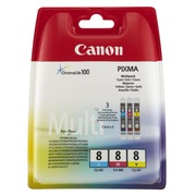 CLI8 CANON MP800 INK (3) CMY