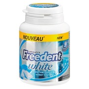 Chewing gum Freedent white spearmint - Box of 46