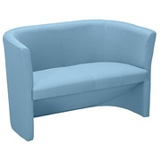 Sofa Premium trendy in fabric sky blue