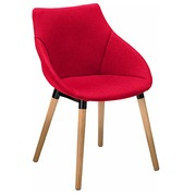 Armchair Anet - red