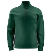 2128 Sweatshirt 1/2 zip Groen 4XL