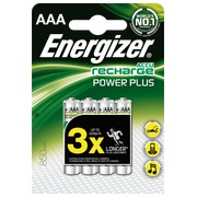 Rechargeable AAA batteries - HR3 Energizer - Blister of 4 batteries