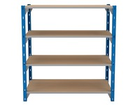 Set of 4 isorel shelves for Archiv'Pro width 100 cm