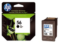Cartridge HP 56 zwart