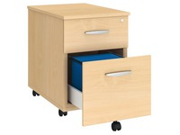 Mobile drawer cabinet Excellens wood 2 drawers