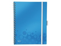 Spiral notebook Be Mobile Leitz A4 - white lined - 160 pages