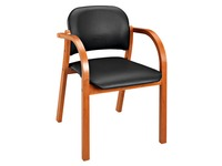 Fauteuil Mely-Melo imitatieleer