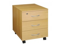 Cubo, mobile drawer cabinet, 3 drawers
